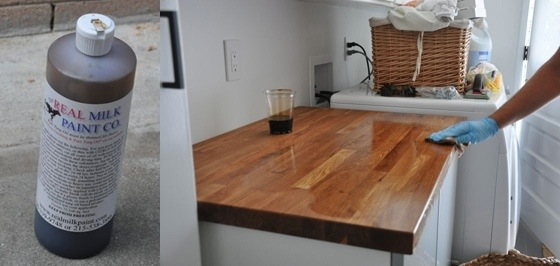 Brick And Brack Butcher Block With Tung Oil